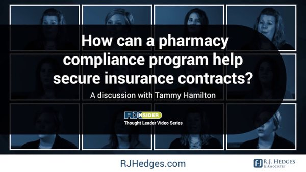 2 - RKL How can apharmacy compliance program help secure insurance contract
