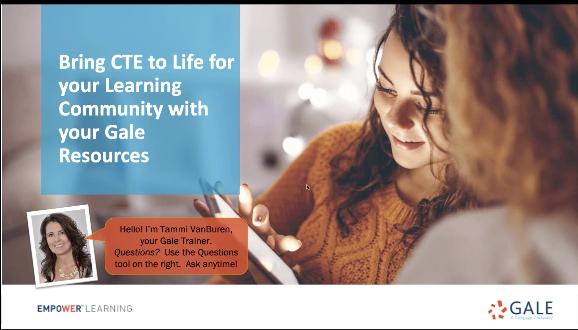 Bring CTE to Life for your Learning Community with your Gale Resources Thumbnail