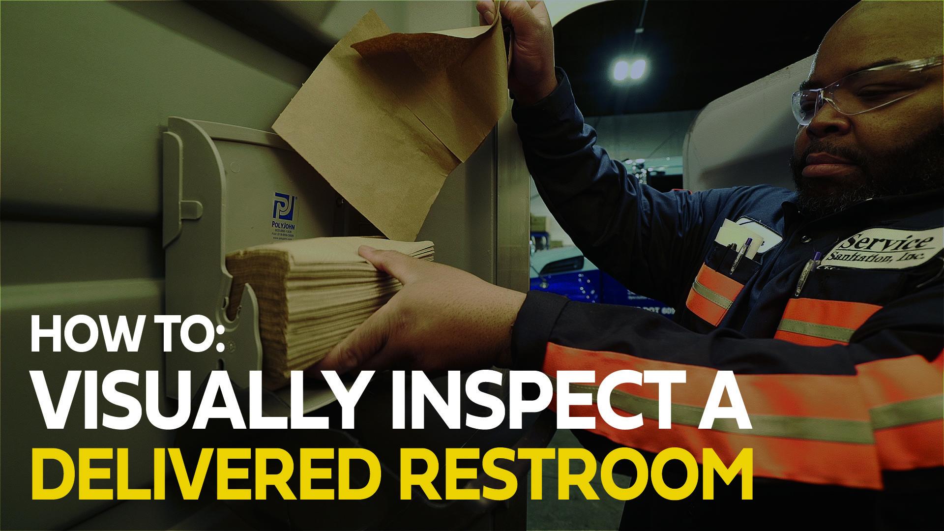 4. Inspecting delivered unit
