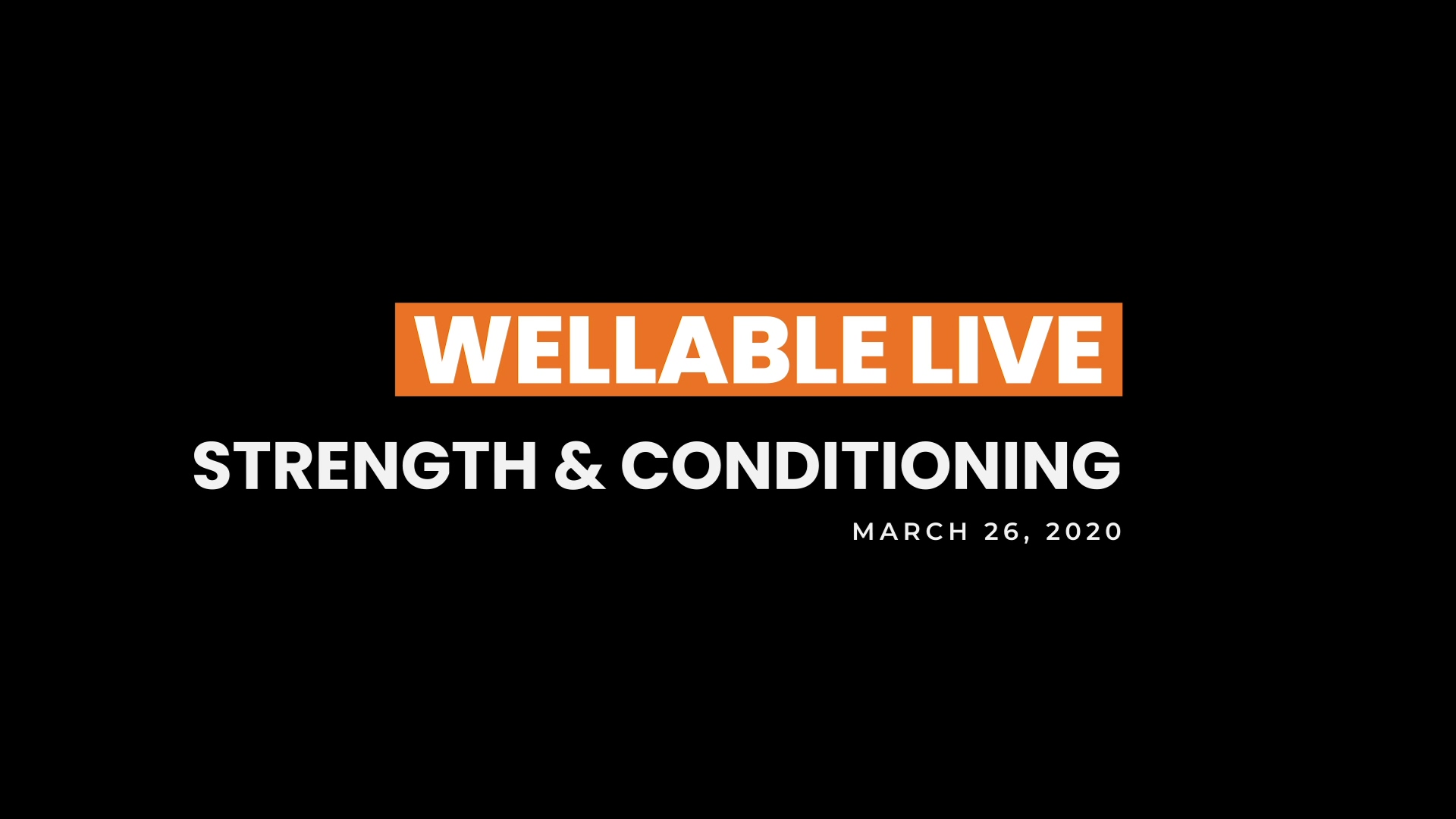 20 0326 Wellable Live