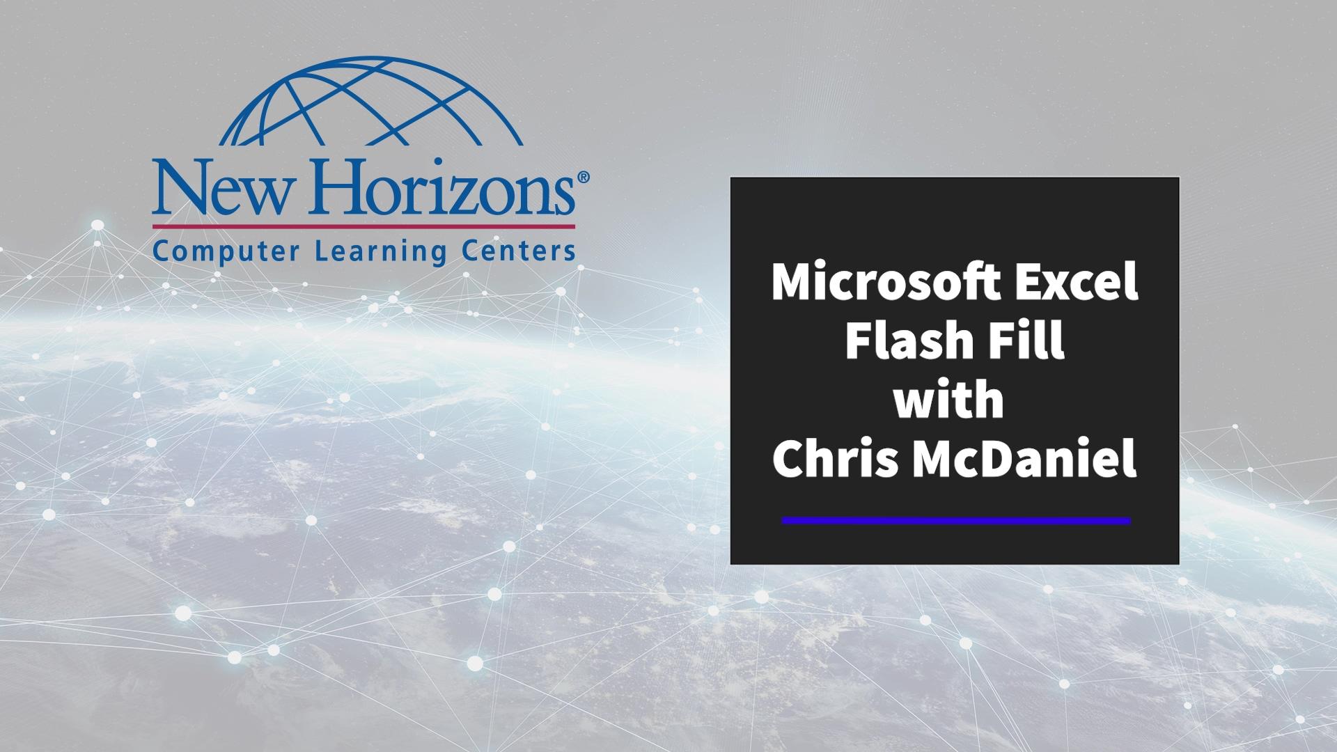 Excel-FlashFill