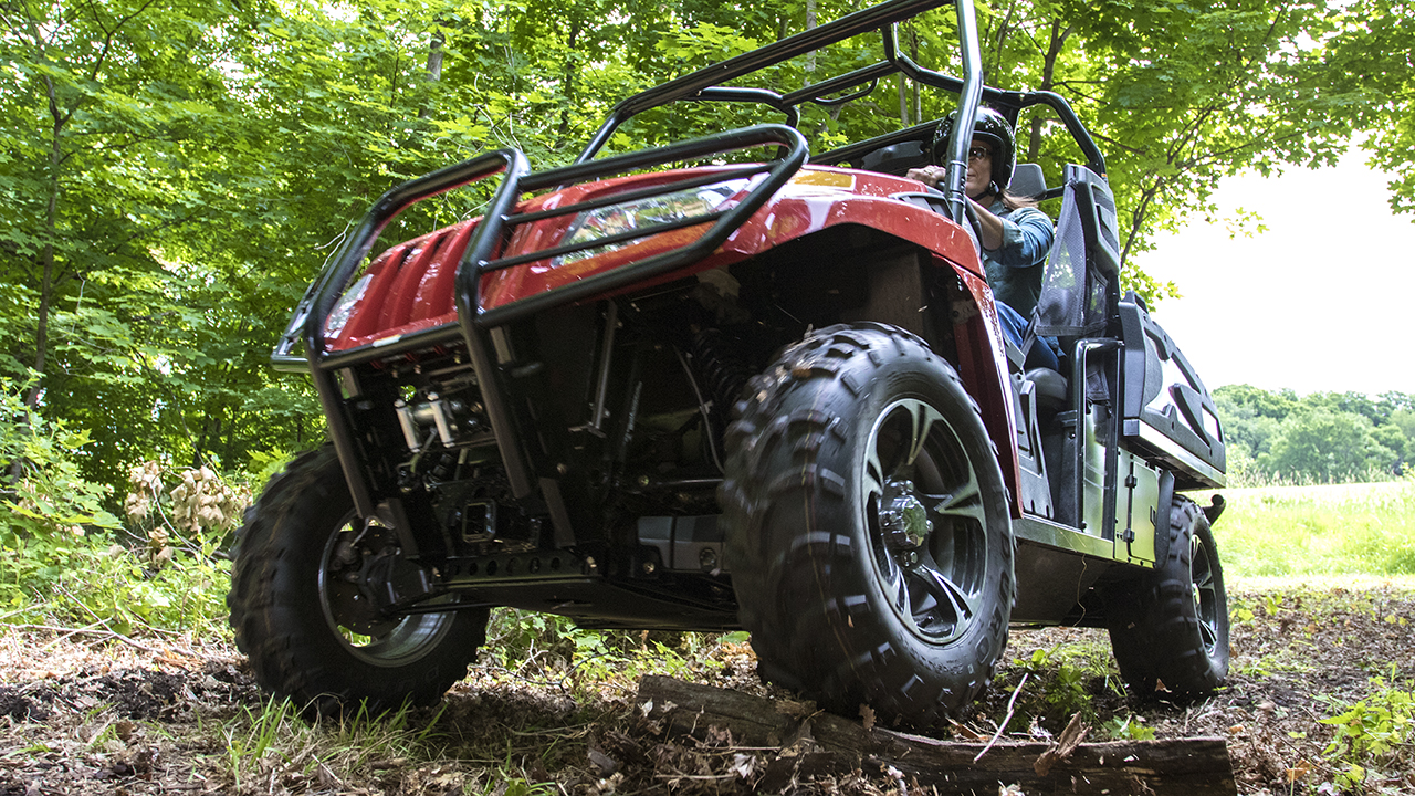 New Side By Side Off-Road UTV from Toro