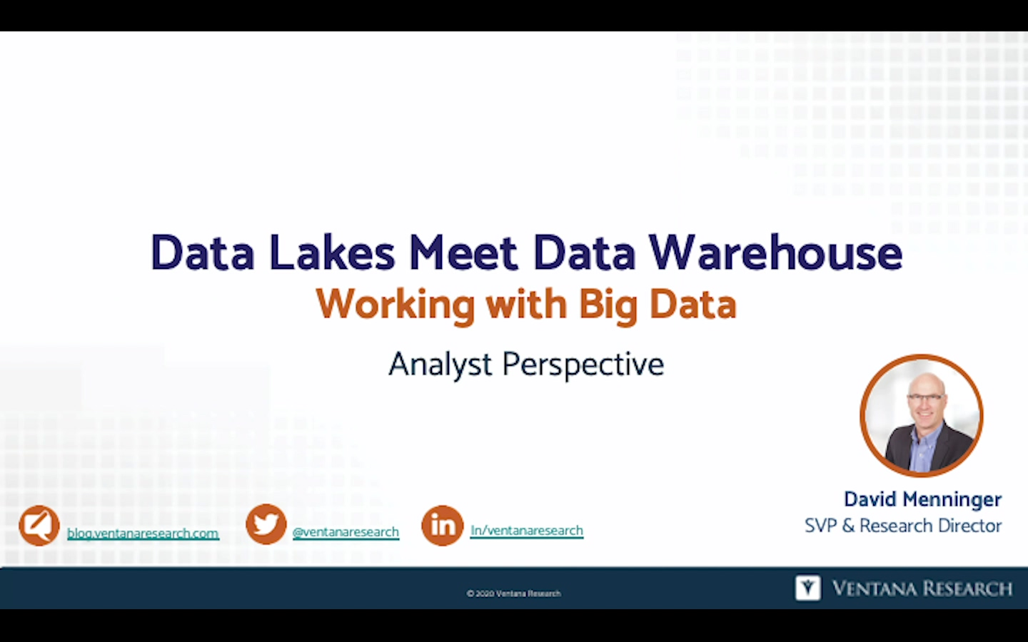 Ventana_Research_Analyst_Perspective_Data_Lakes_2020