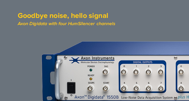 Axon Digidata 1550B Low Noise Data Acquisition System plus HumSilencer