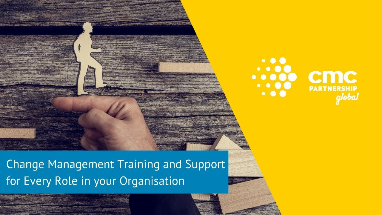 Change Management Training and Support for Every Role in your Organisation