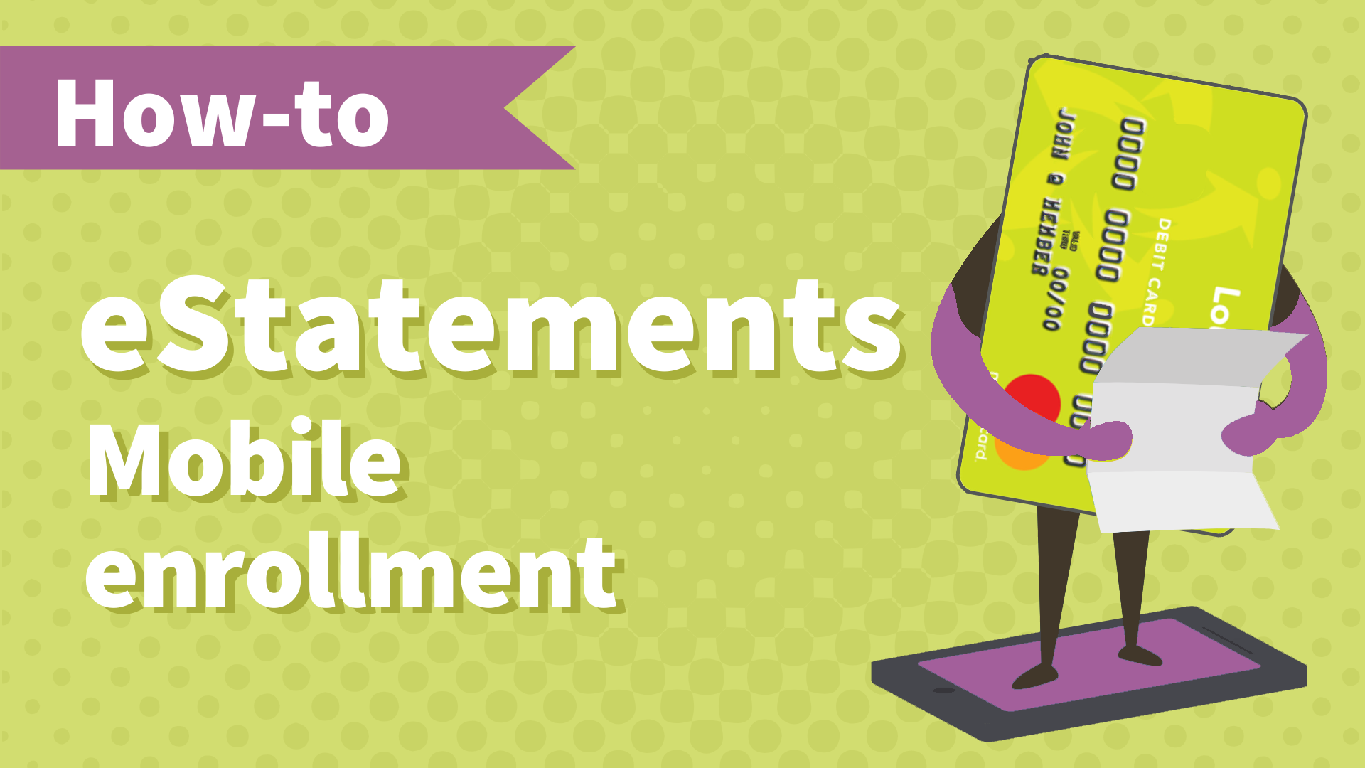 Tutorial_eStatement Enrollment_FINAL