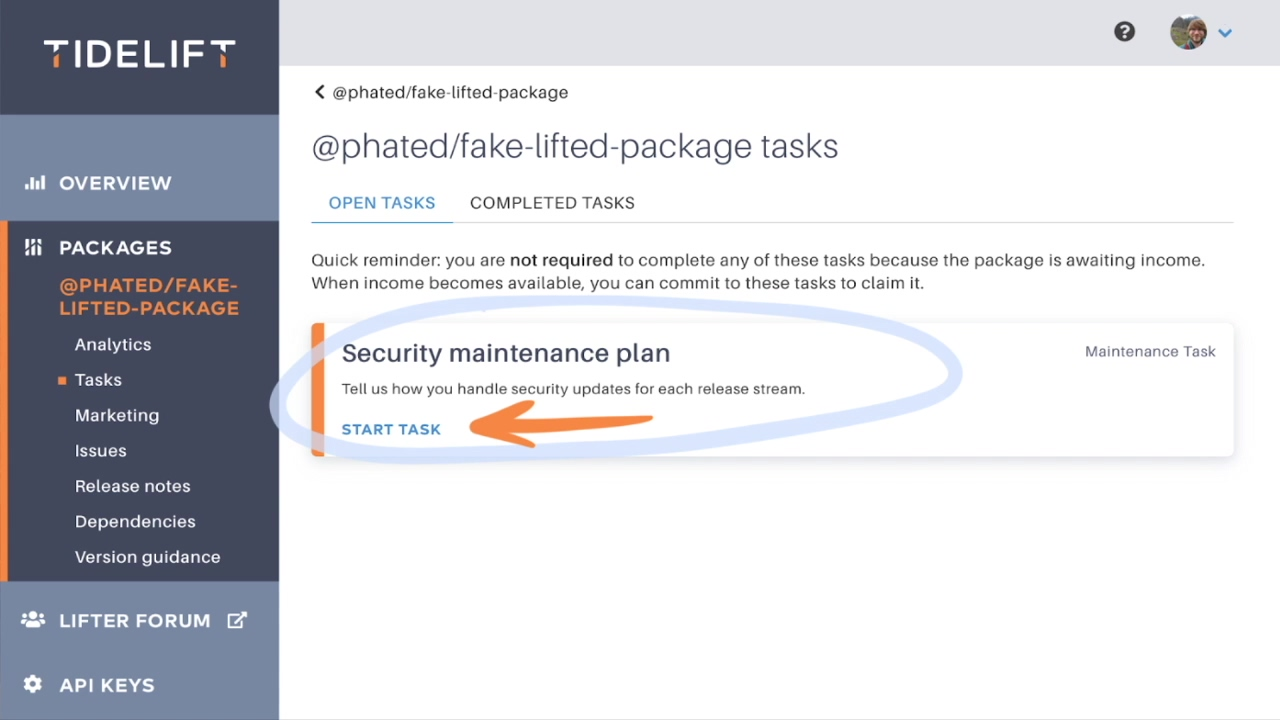 Security Maintenance Plan