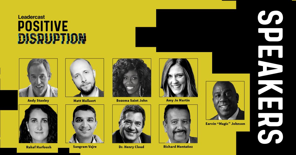 Leadercast 2020Positive Disruption to Feature Earvin Magic Johnson (1)
