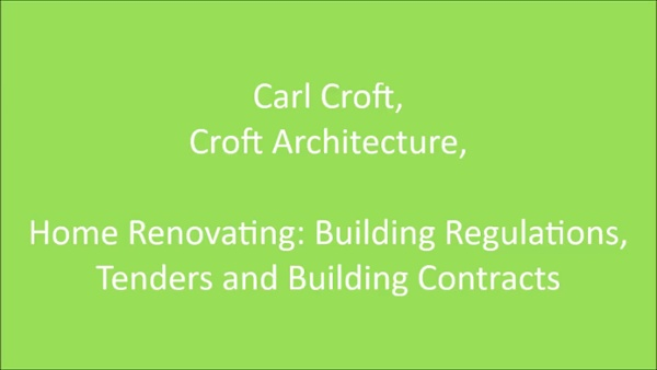 Carl Croft Building Regulations, Tenders & Contracts-1