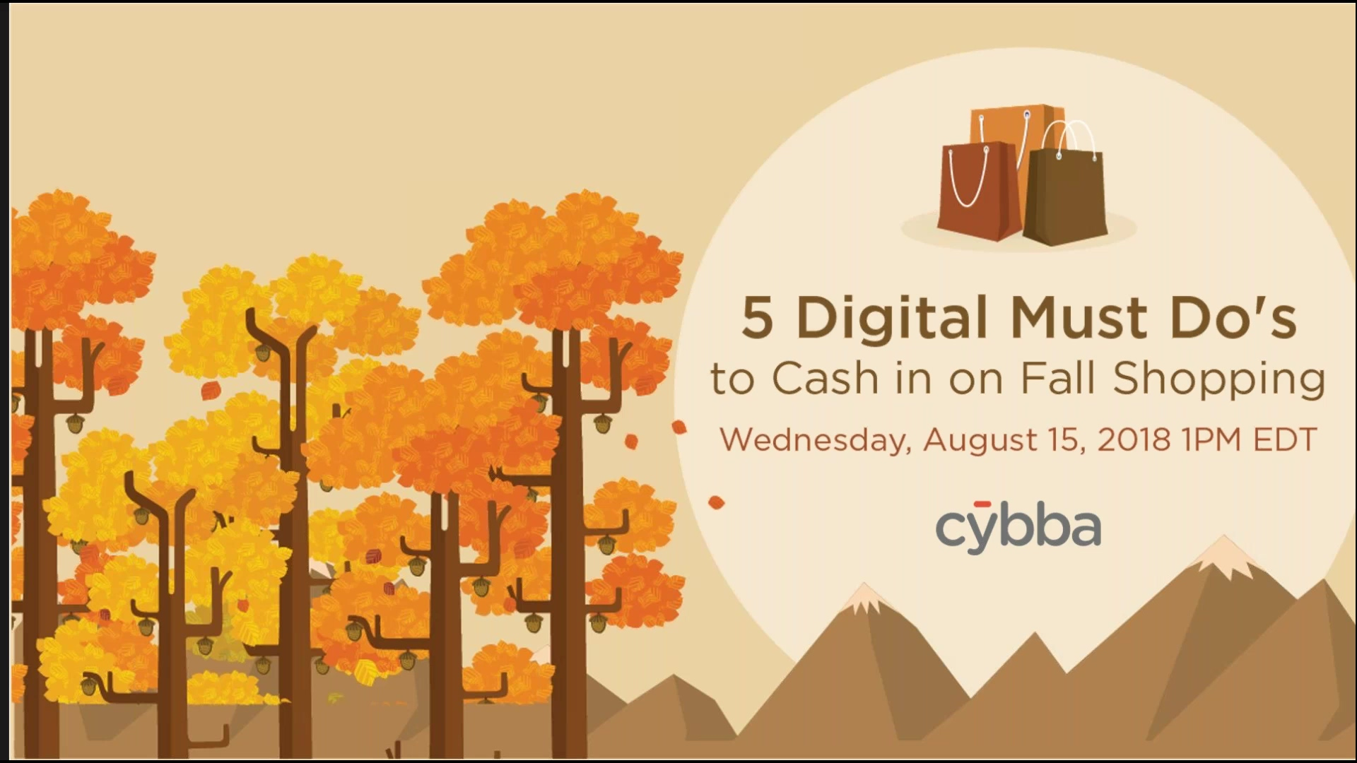 5 Digital Must Do's to Cash in on Fall Shopping