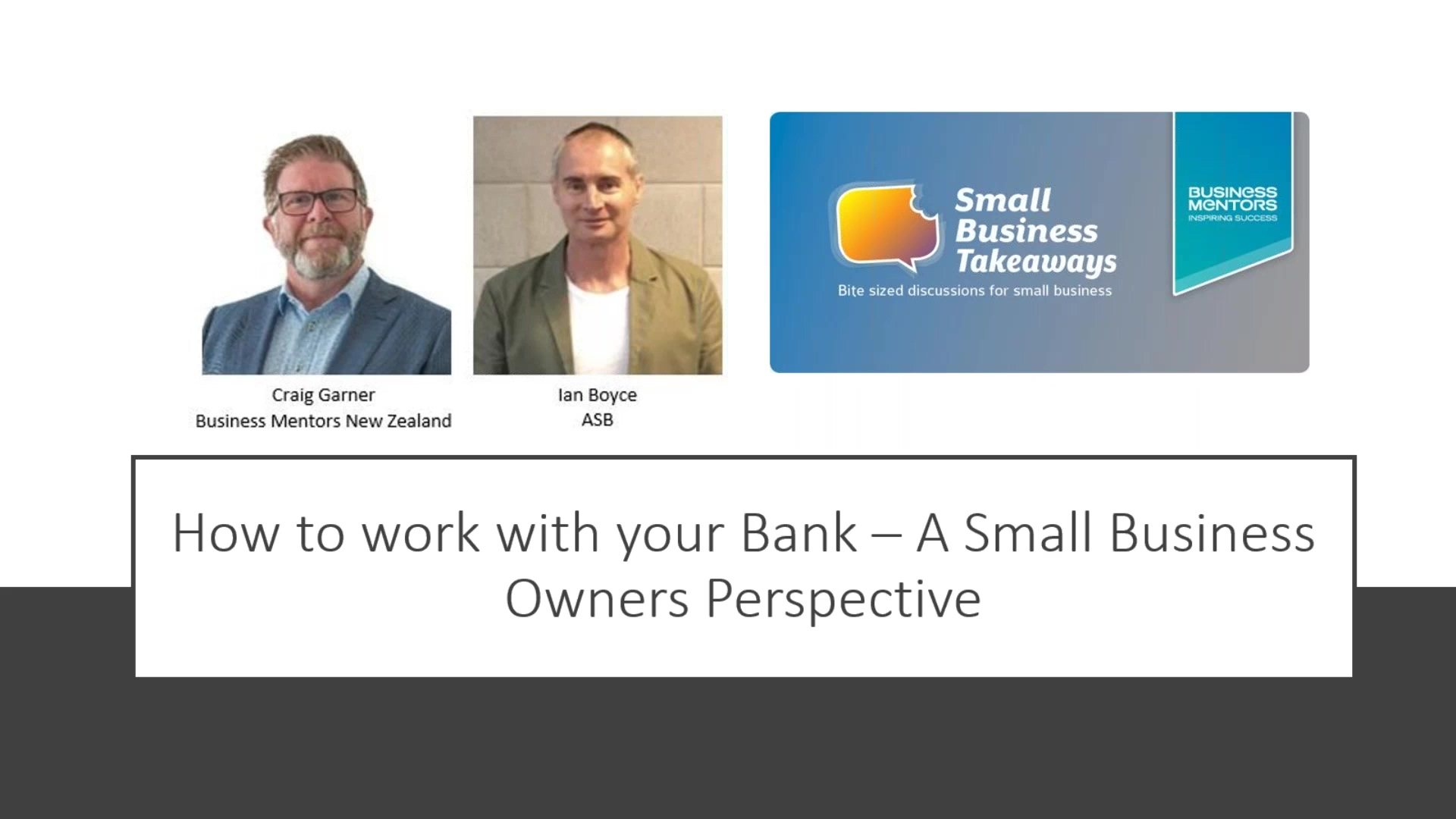 BMNZ SBT How to work with your Bank Apr2020
