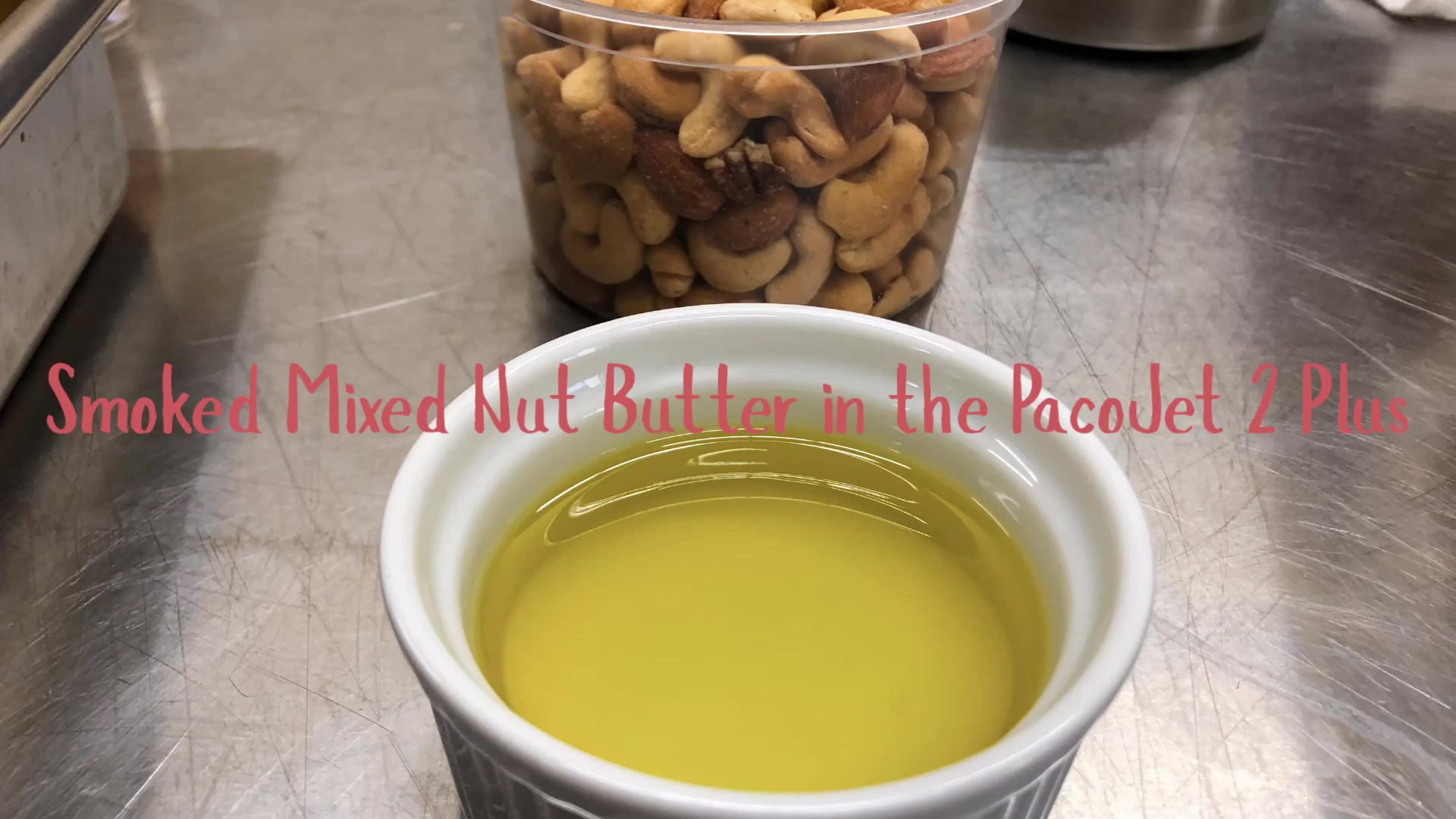 PacoJet Smoked Nut Butter