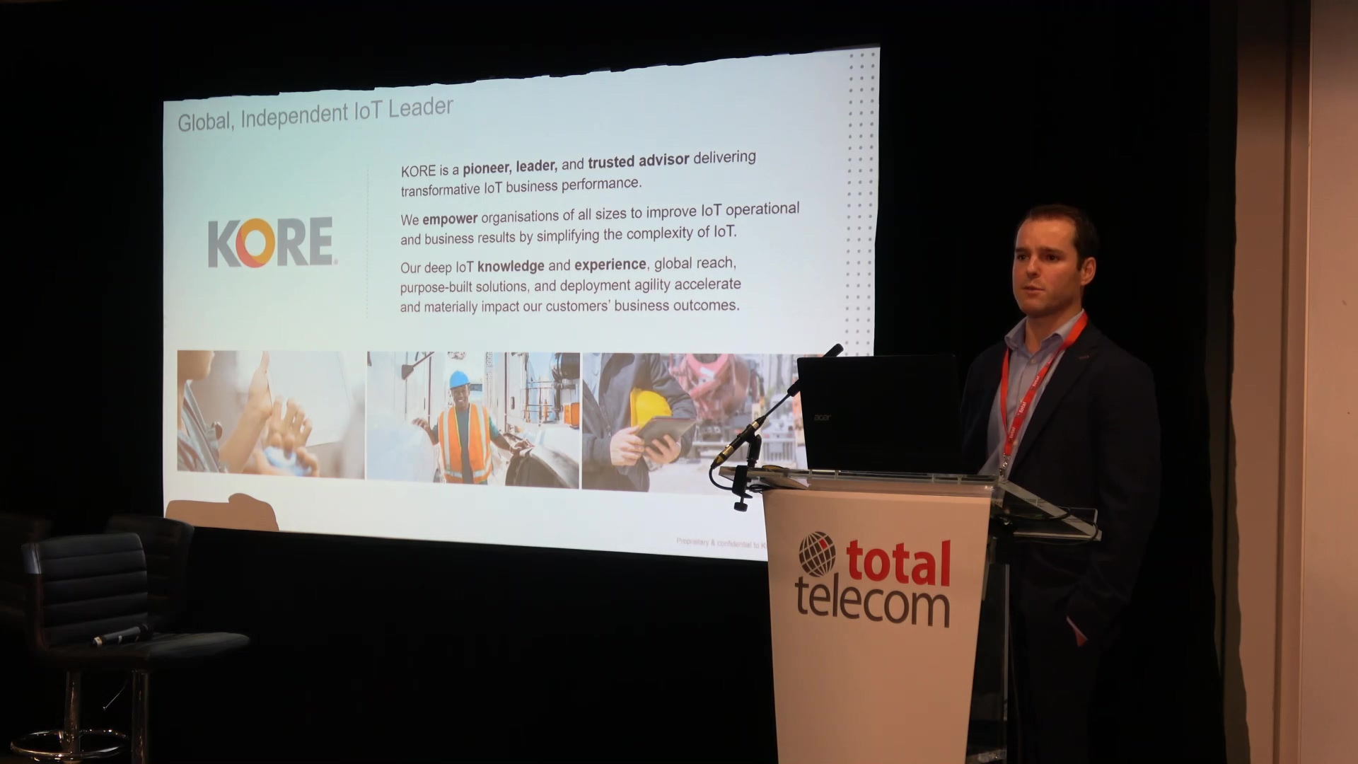 Total Telecom Congress - eSIM Keynote