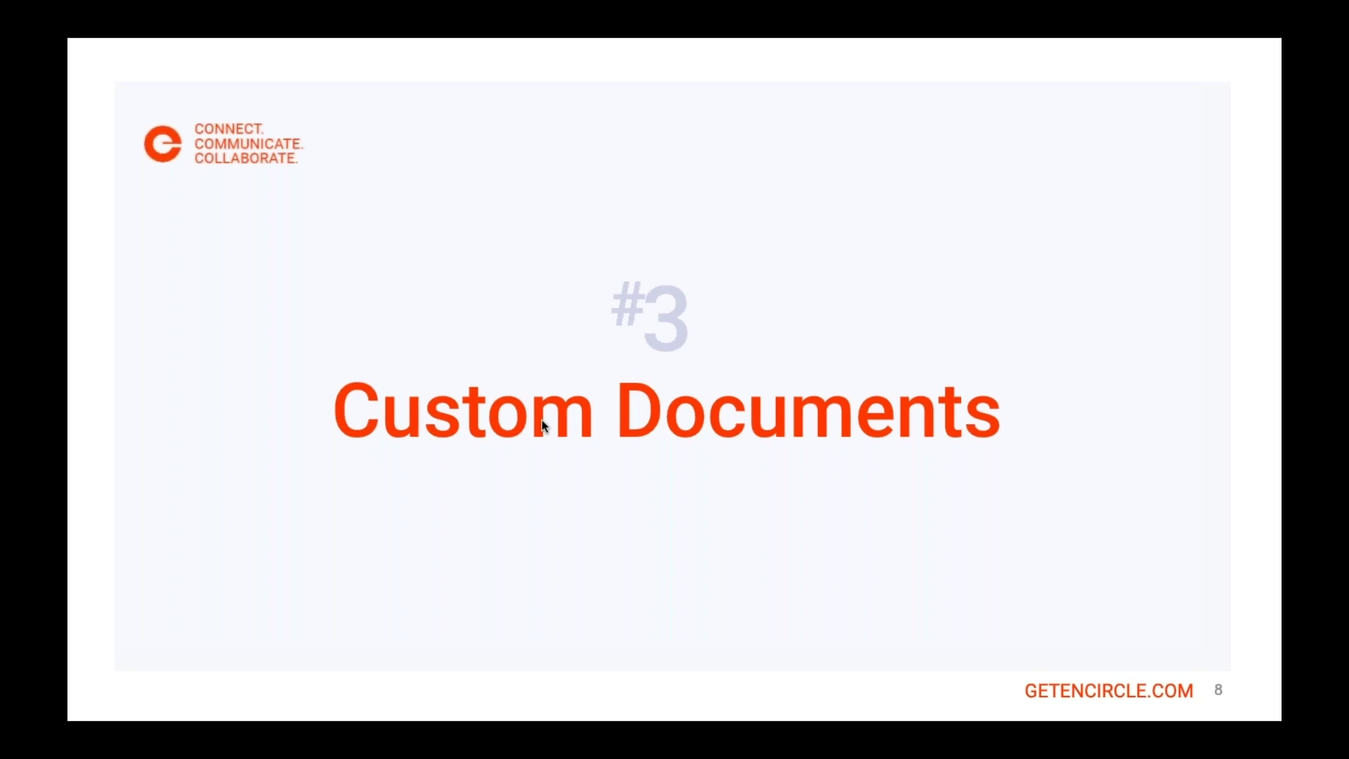 Top five under-utilized features of Encircle-Custom Documents