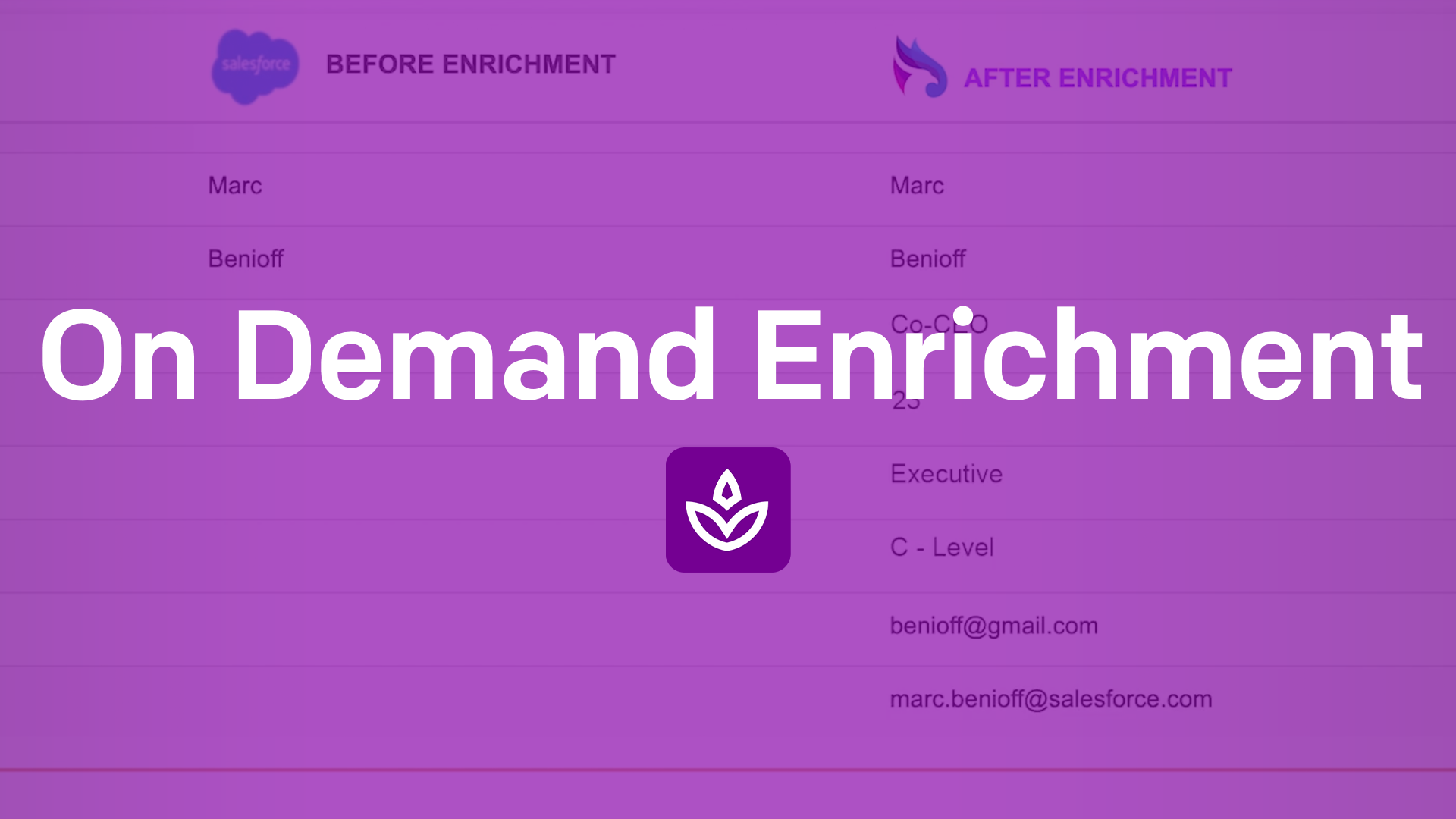 PREVENT: On Demand Enrichment - Real Time Enrichment within Your Salesforce  Page Layouts