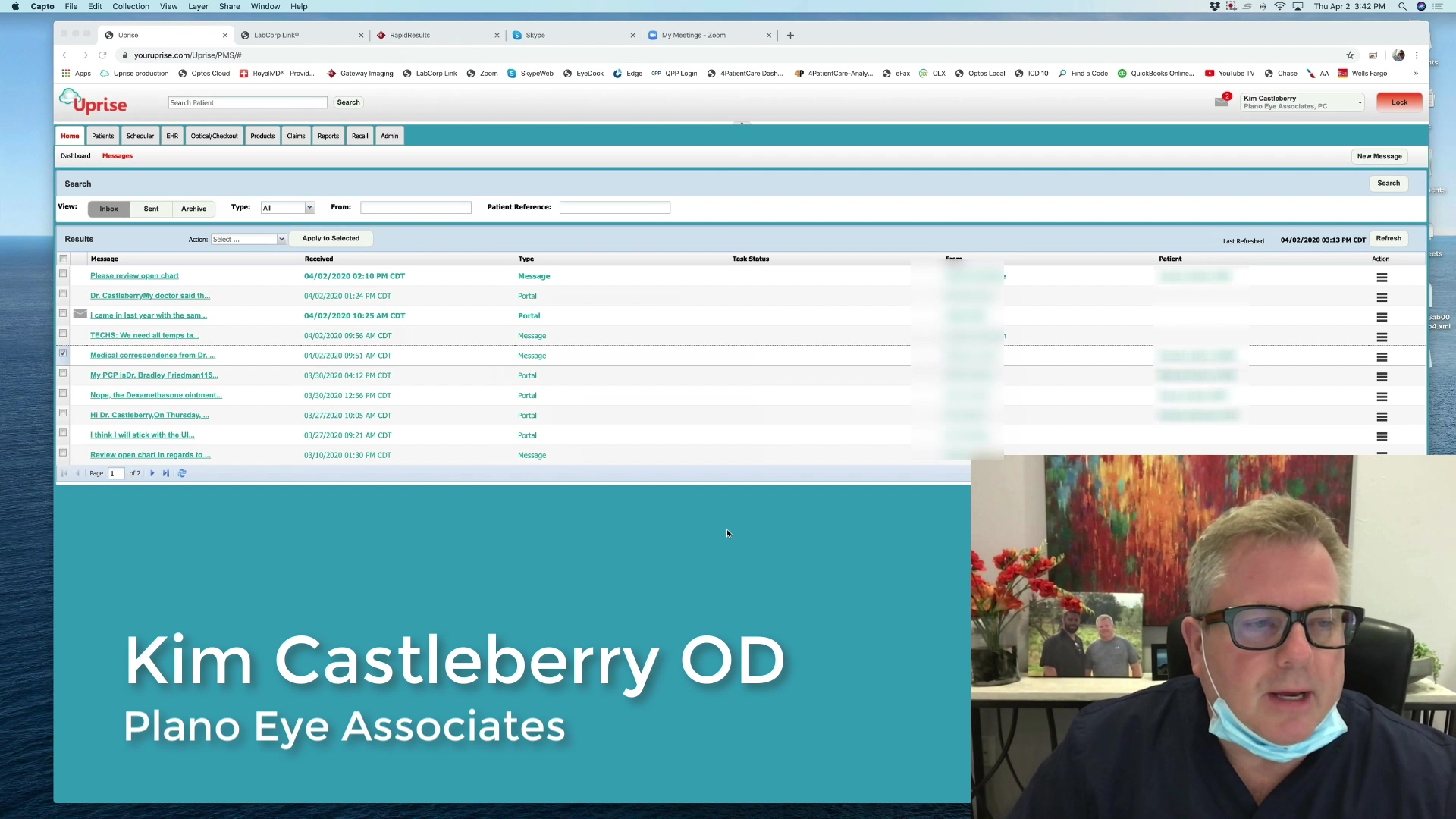 Castleberry Telehealth Workflow