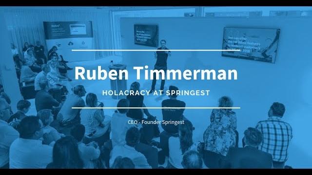 Nmbrs Talks #2 - Ruben Timmerman - Holacracy