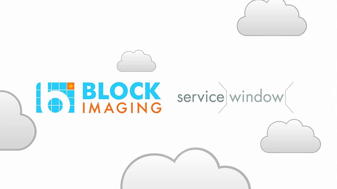 Service Window by Block Imaging