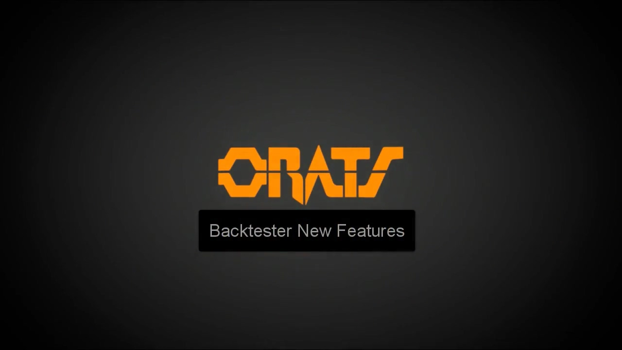 Backtester New Features