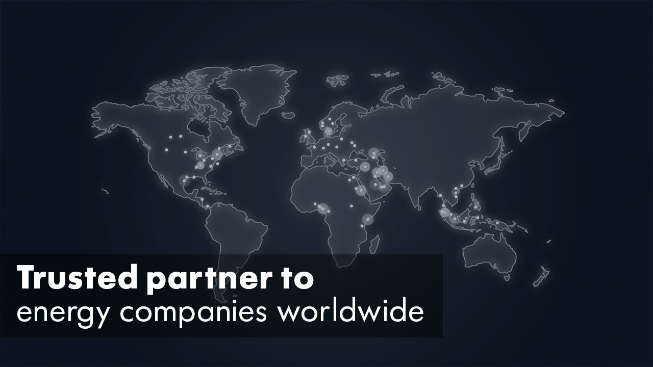 Trusted Partner to Energy Companies Worldwide 1280