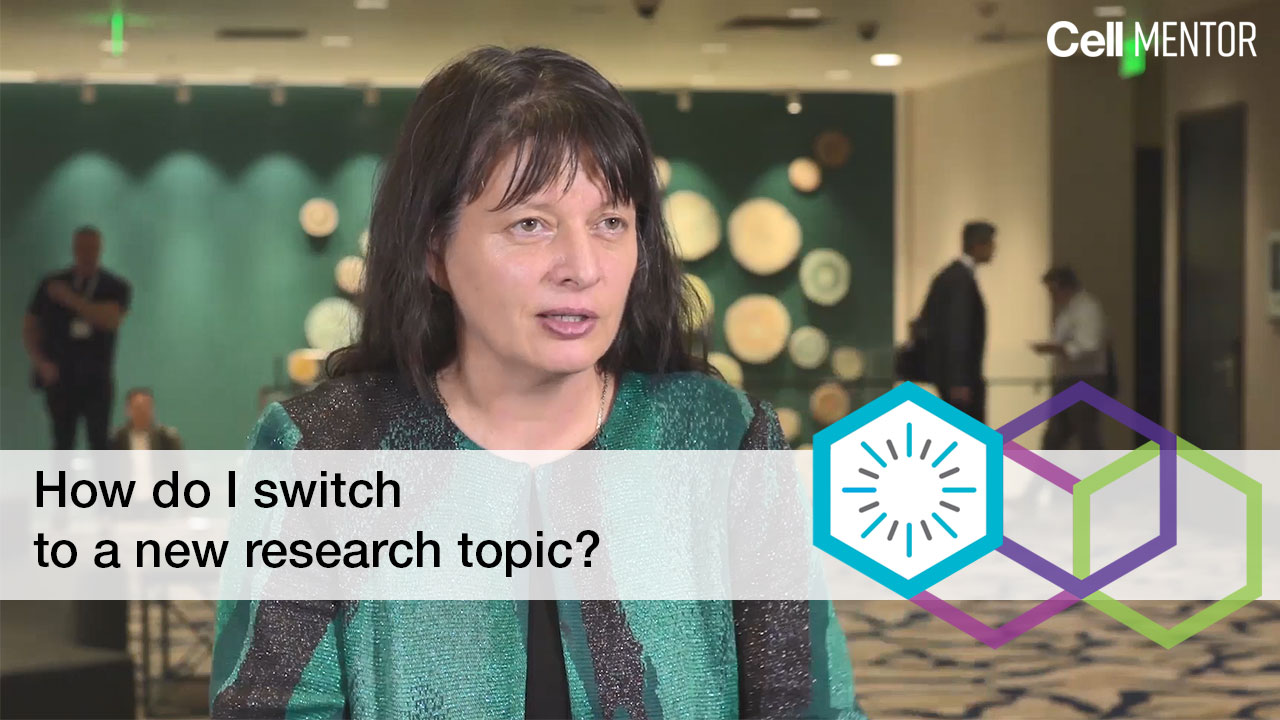 Get Inspired - How do I switch to a new research topic