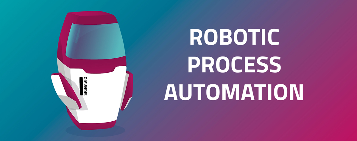 Robotic Process Automation with Signavio