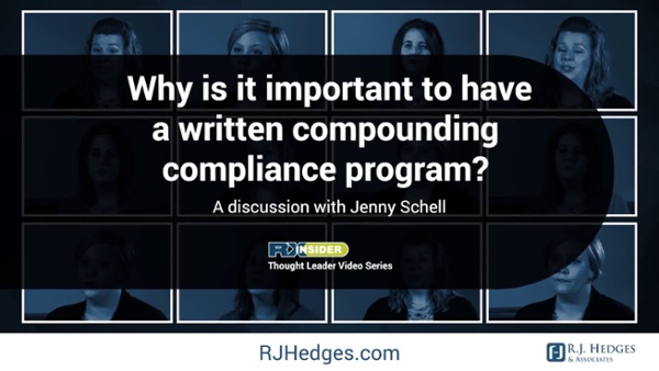 4 Why is it important to have a written compounding compliance program