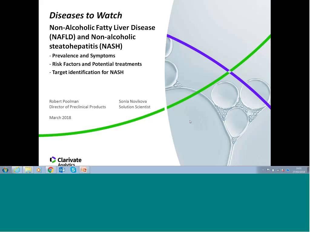 Identifying Novel Targets for NAFLD and NASH - Cortellis