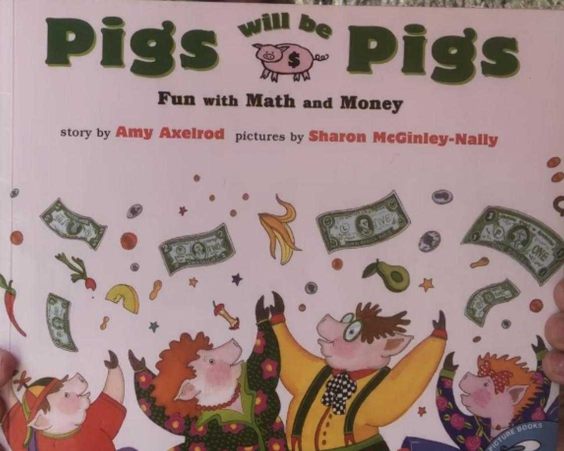 Smart Money Book Reading -Pigs Will Be Pigs -Tina Wilson