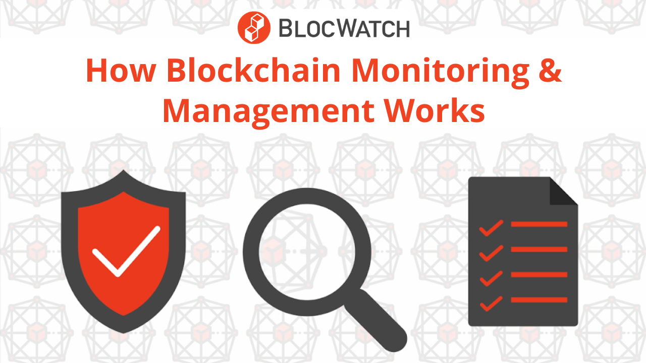 BlocWatch Blockchain Monitoring & Management Product Overview