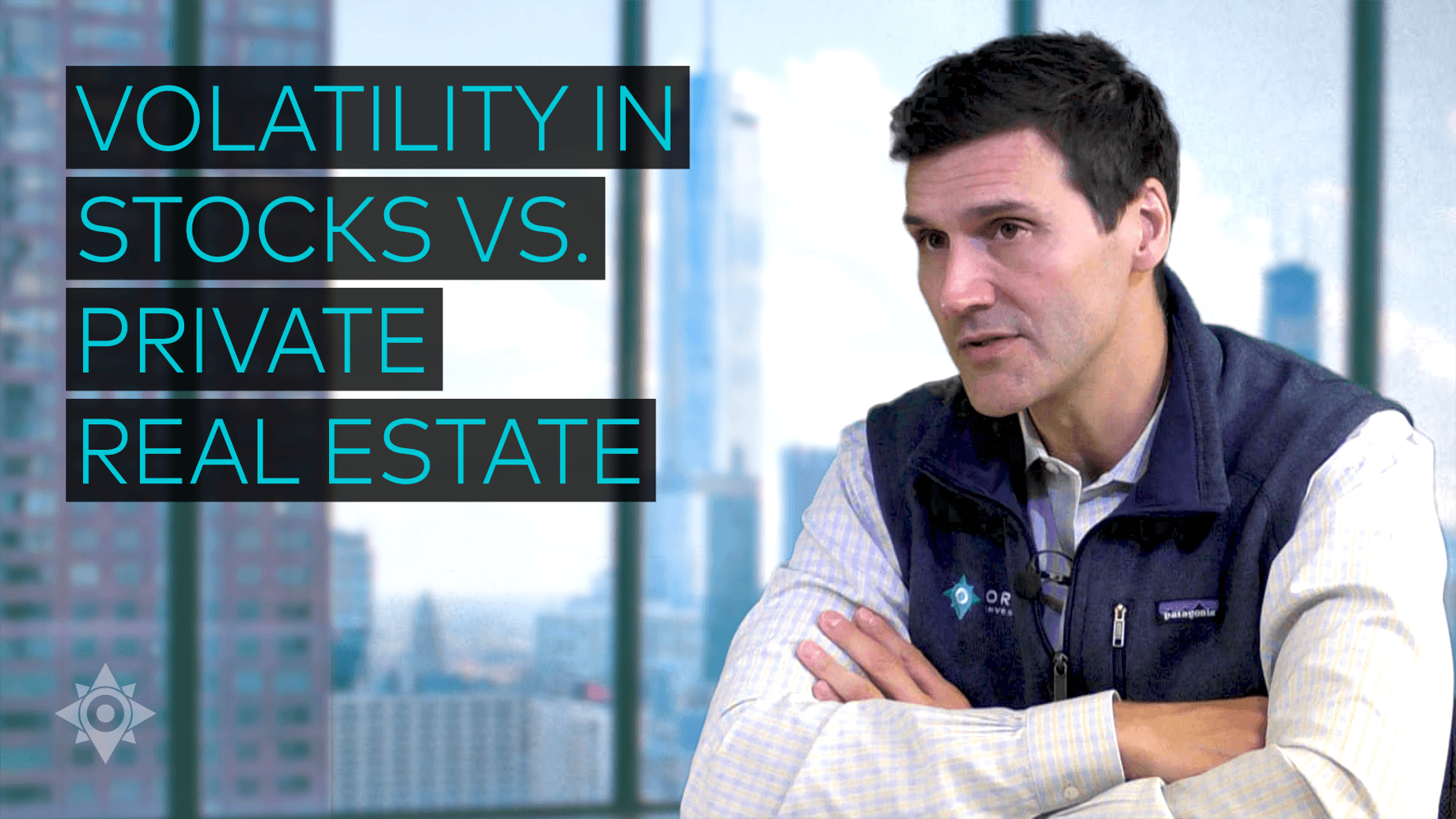 Volatility in Stocks vs Private Real Estate