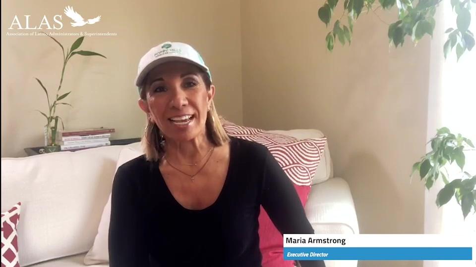 Dr. Maria Armstrong - ALAS Executive Director - April 10 2020