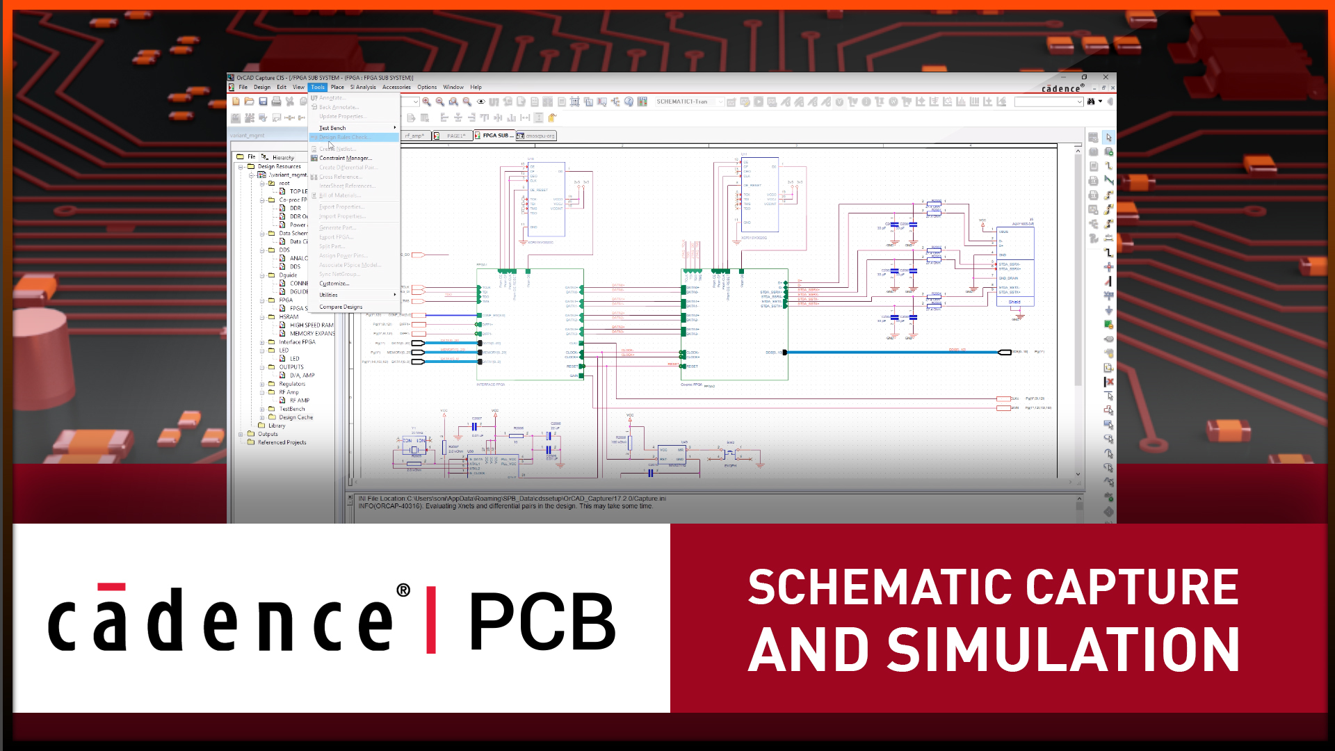 Schematic Capture And Simulation Orcad