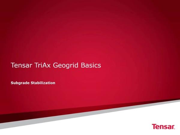 Subgrade Stabilization Basics 011818