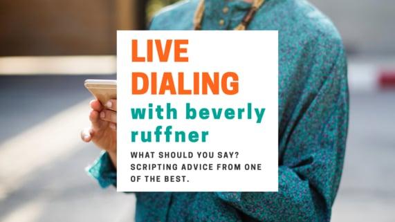 Bev Live Dialing 7-20-17