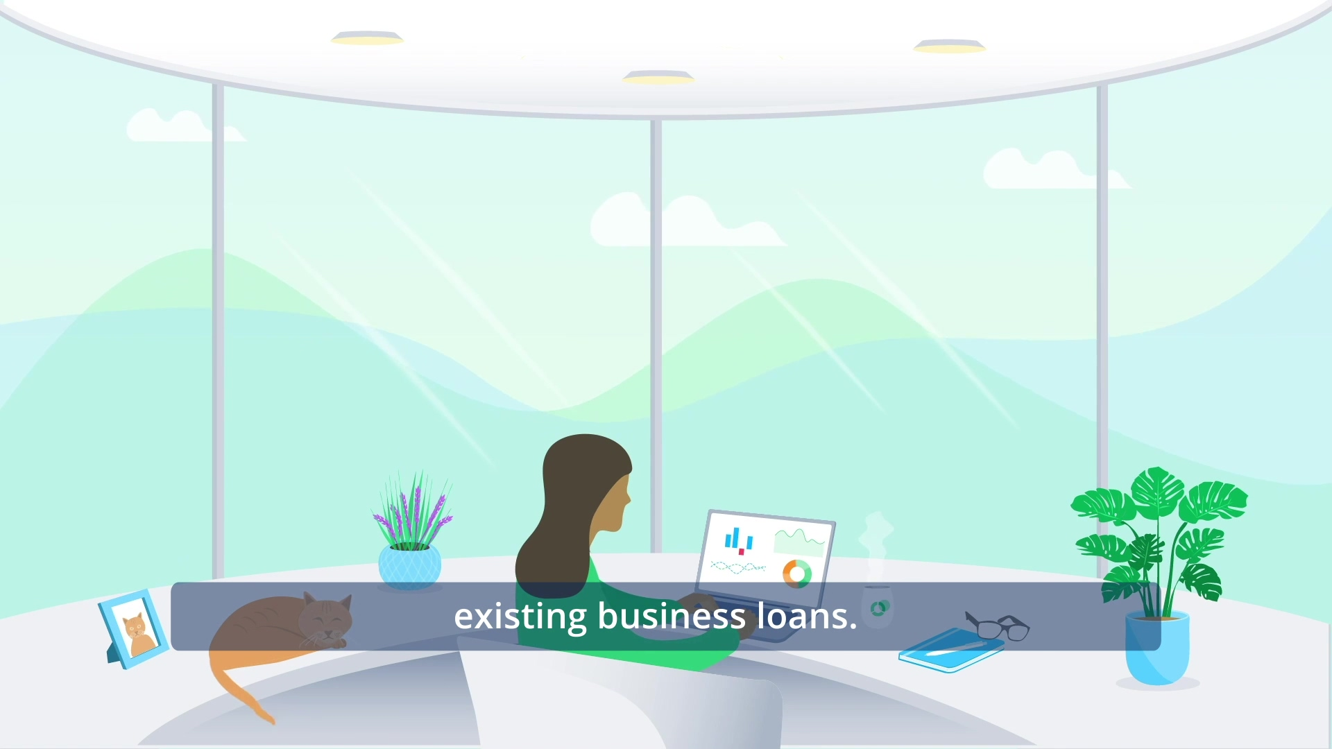 Loan amortisation with captions-1