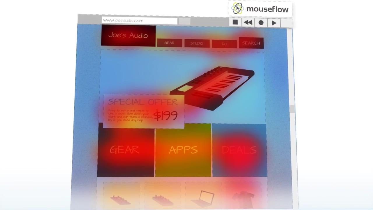 Mouseflow video