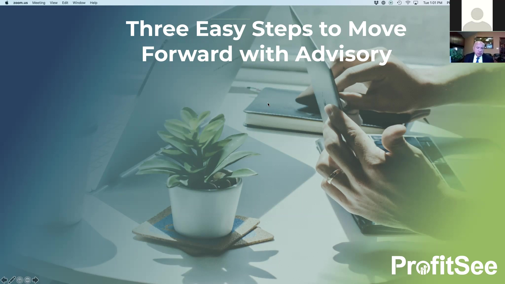Three Steps Advisory Webinar 2019.10.22