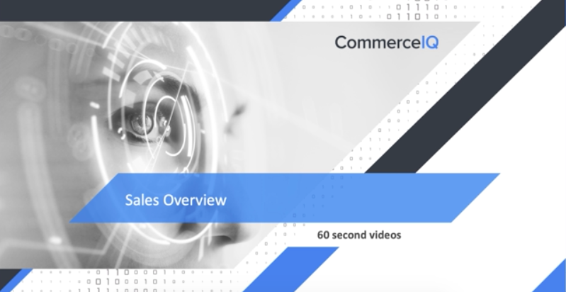 Sales Overview - 60 seconds