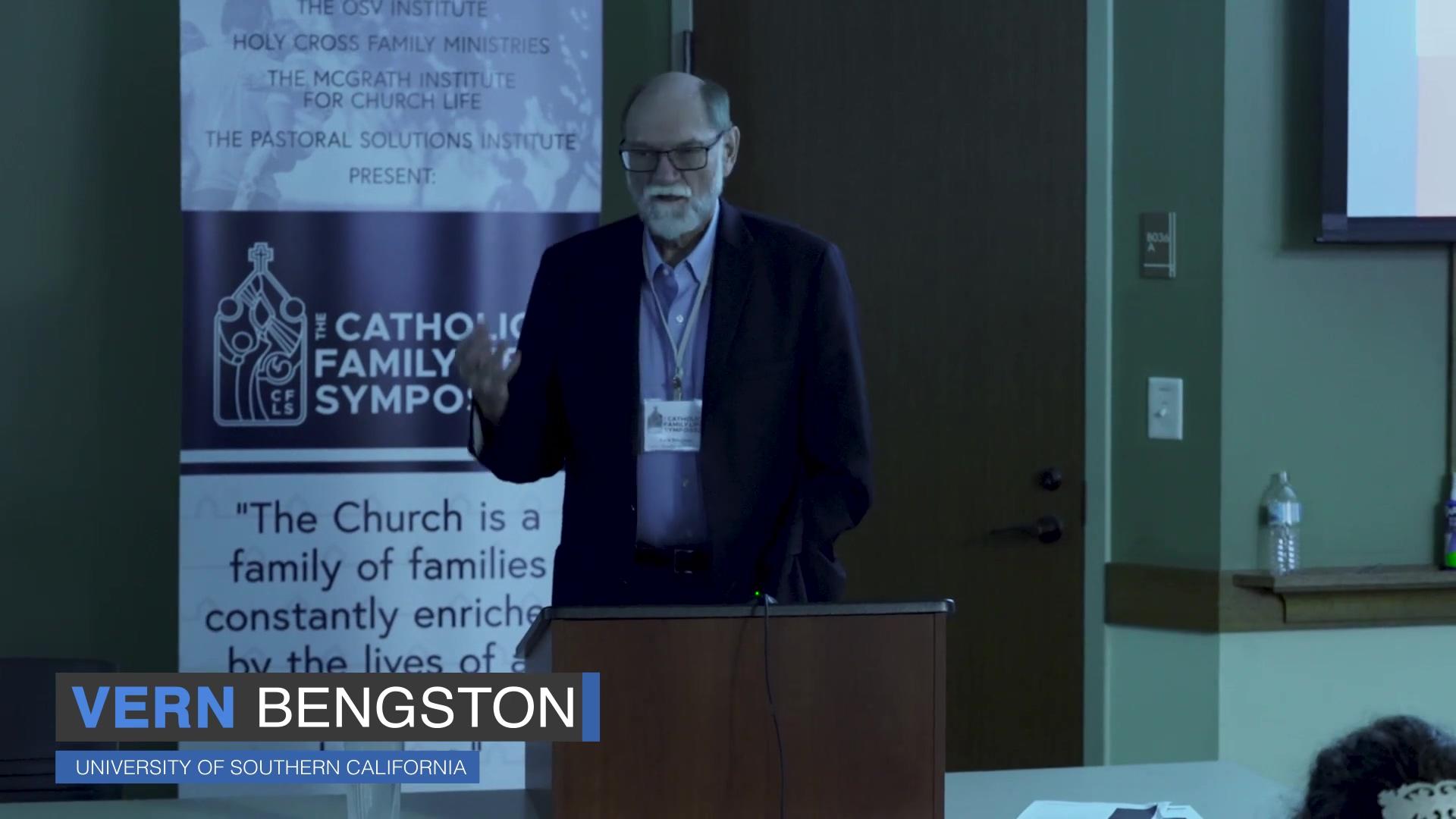 Vern Bengston Talk