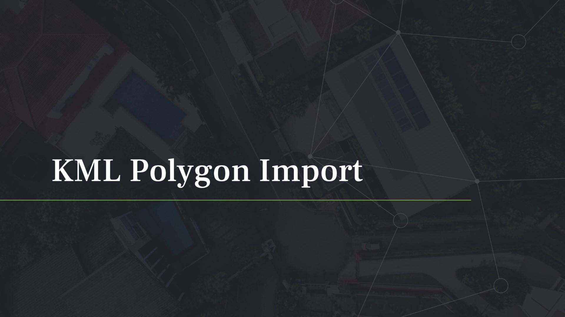 MGC Polygon Import