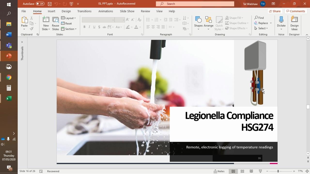 Tal Legionella Video