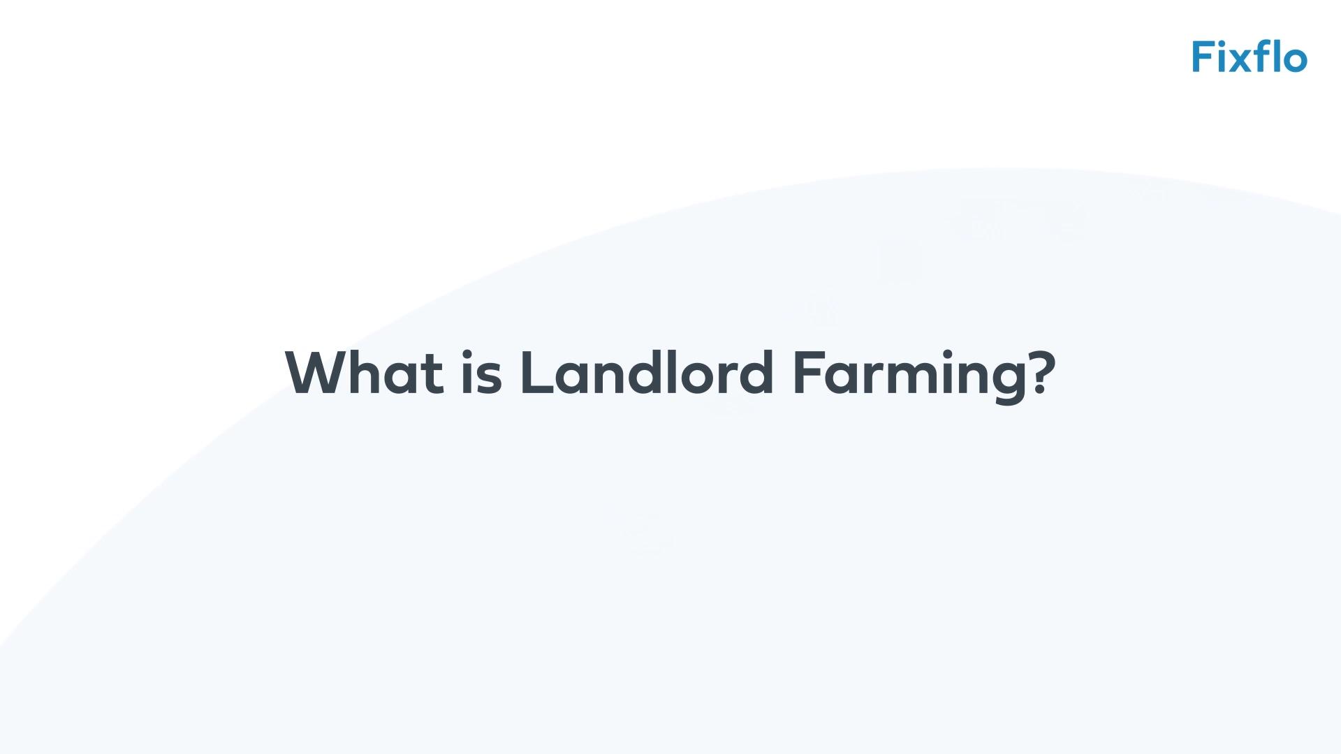 Chris Watkin - 1 - Landlord Farming