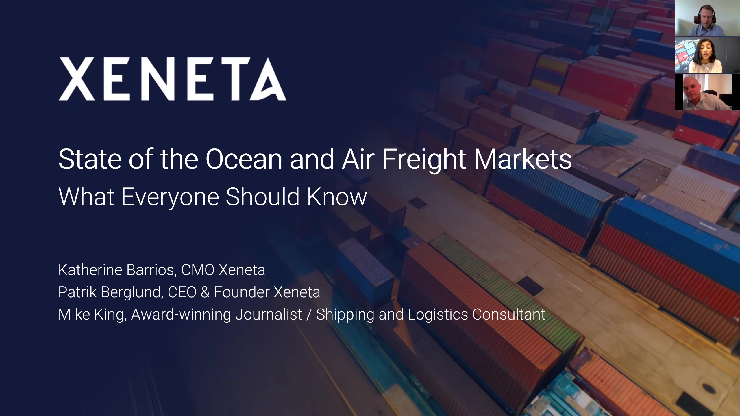 State of the Ocean and Air Freight Markets - What Everyone Should Know - June 2019