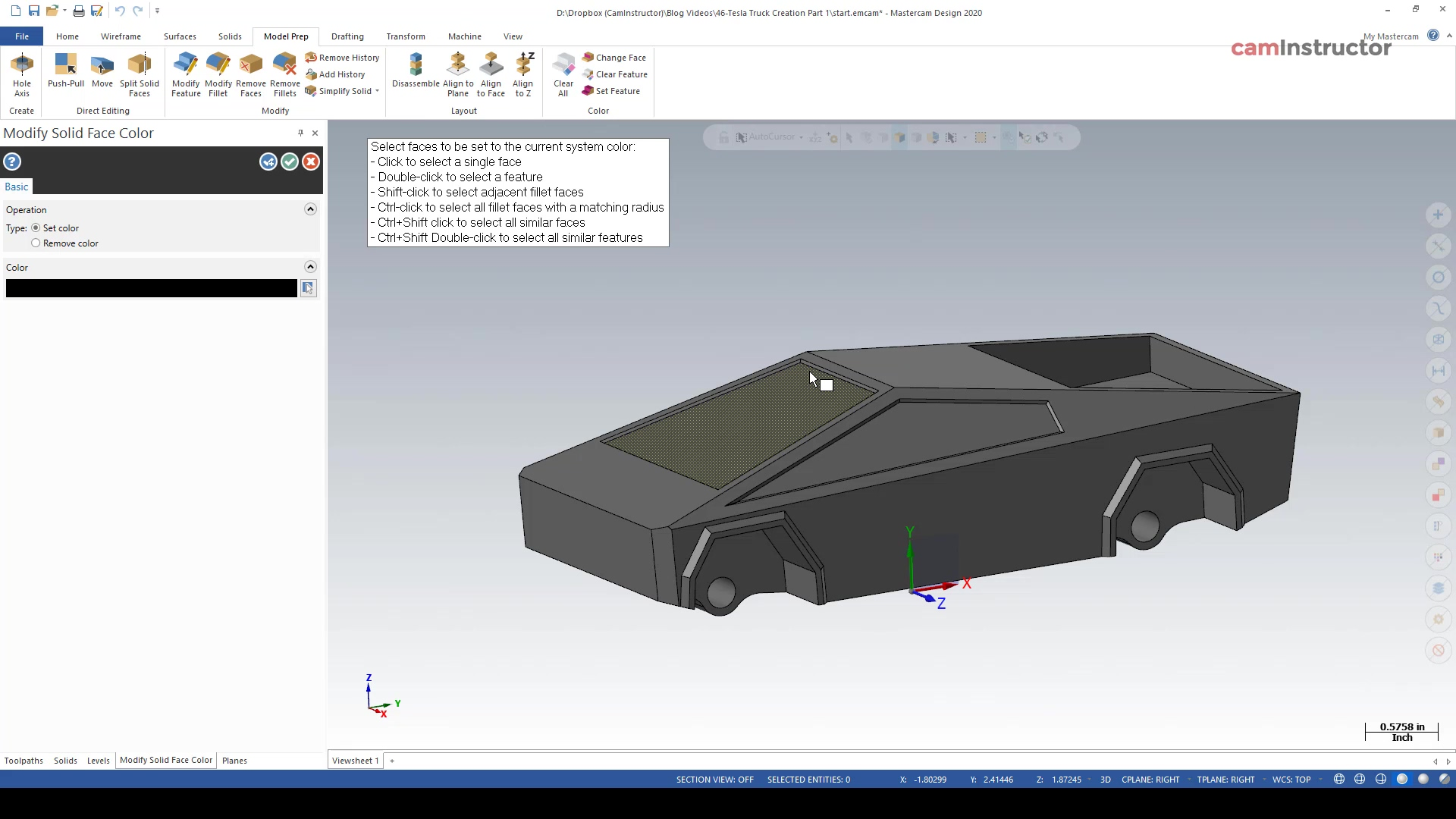 Tesla Truck Creation Part 5