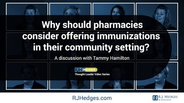 5 Why should pharmacies consider offering immunization in their community setting