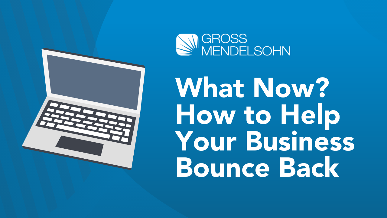 RECORDING What Now How to Help Your Business Bounce Back