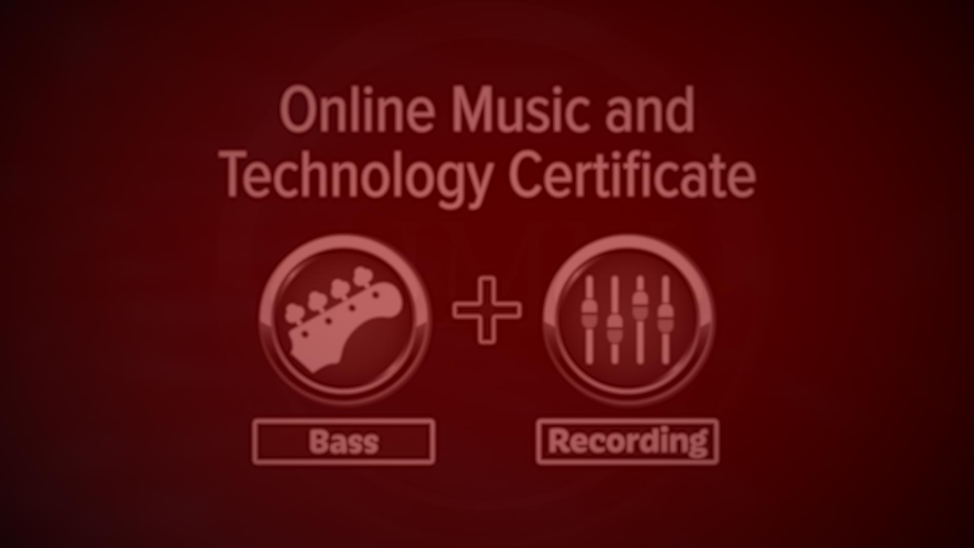Online Bass Certificate