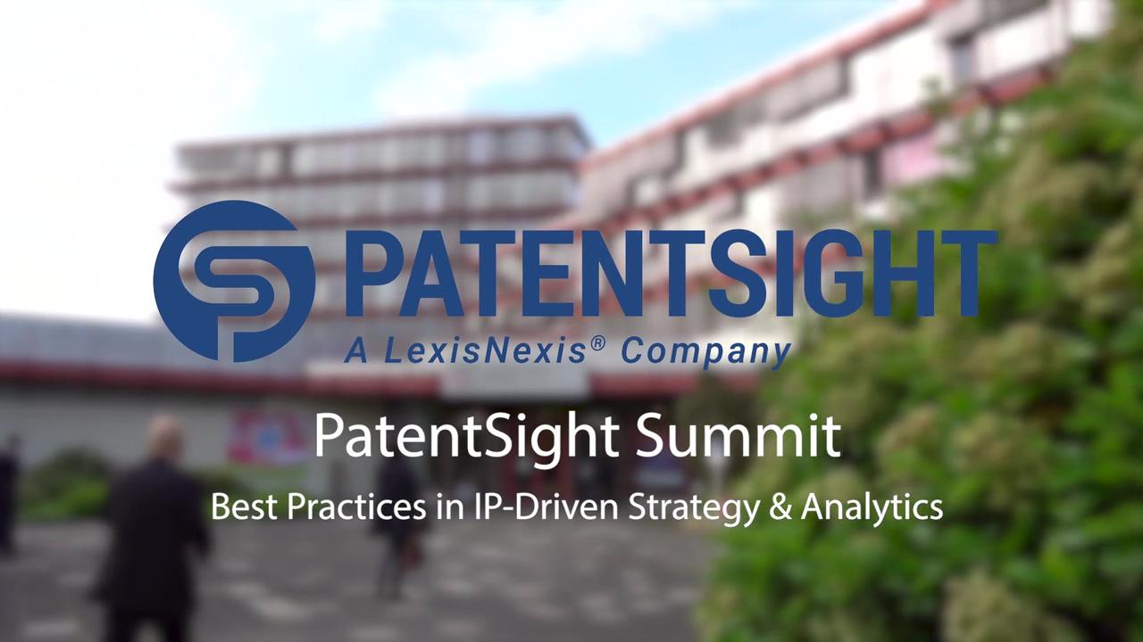 PatentSight Summit - Europe's leading IP conference