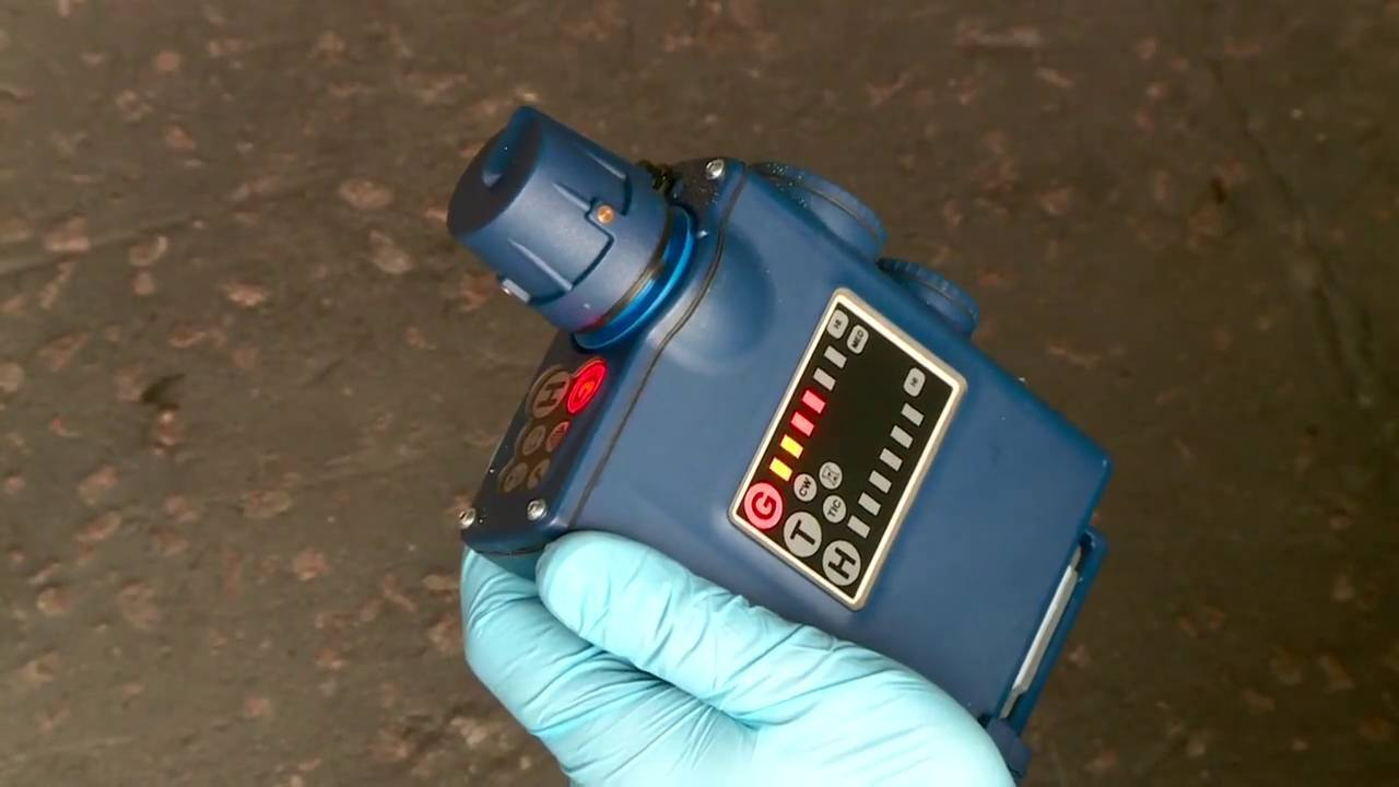 SMITHS LCD3.2E Chemical Hazard Detection Simulator